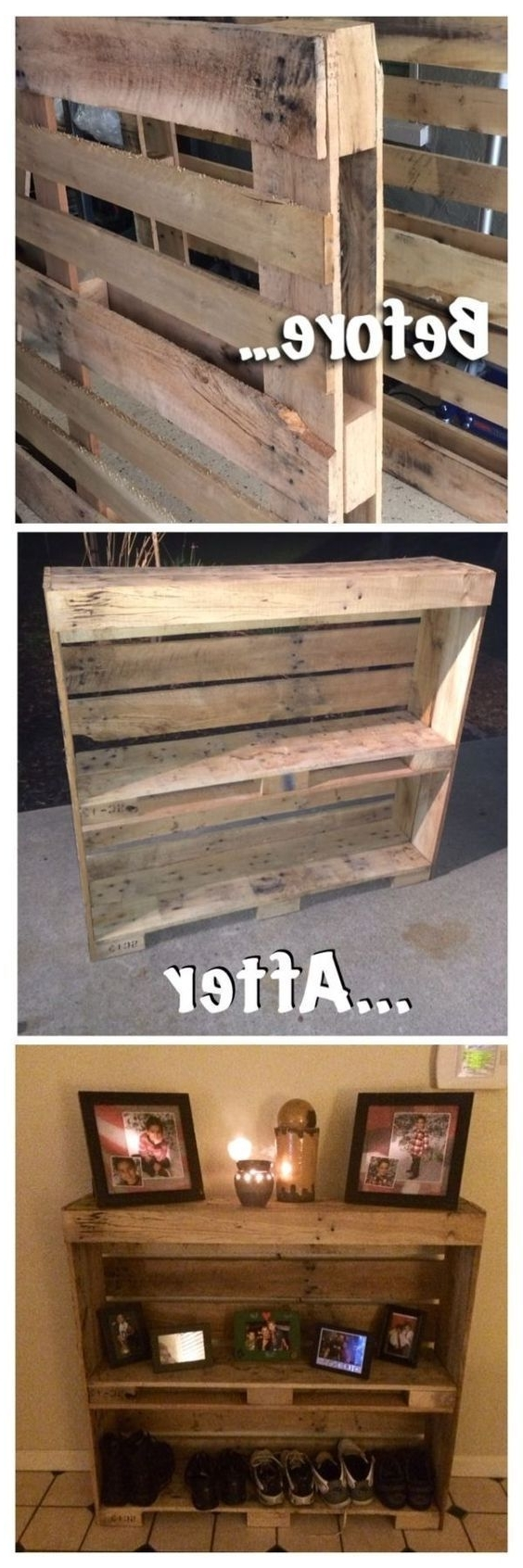 Pallet Ideas, Pallet Inside Wall Accents Made From Pallets (View 12 of 15)