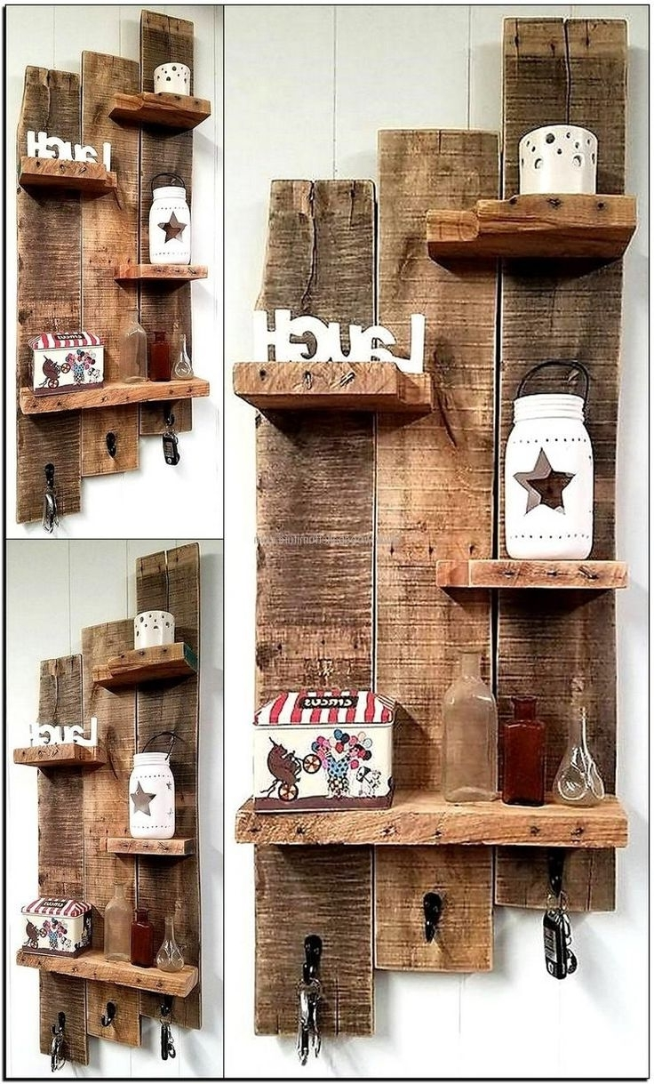 Pallet Projects Inside Most Recent Wall Accents Made From Pallets (View 14 of 15)