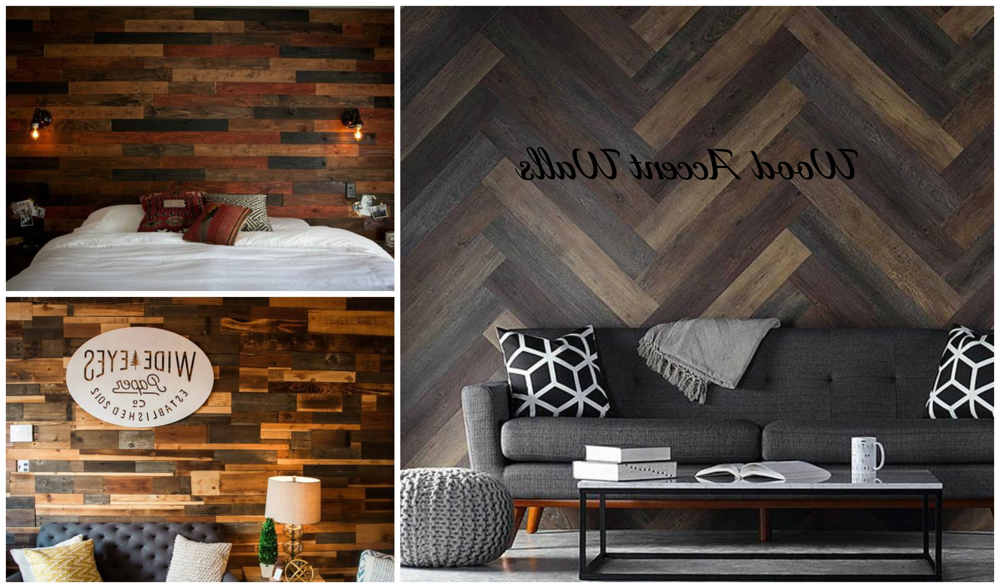 Pallet Wall Ideas – Youtube Pertaining To Wood Wall Accents (View 10 of 15)