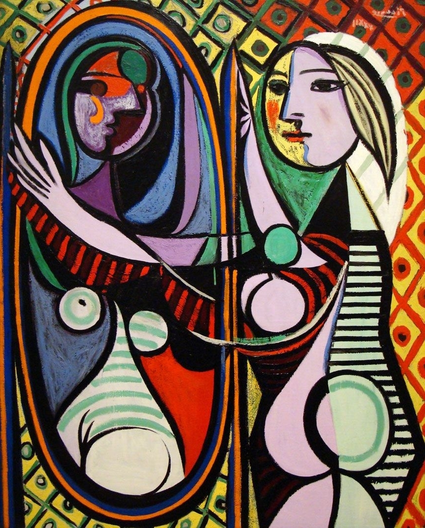 Picasso, Picasso Regarding Favorite Famous Art Framed Prints (View 5 of 15)