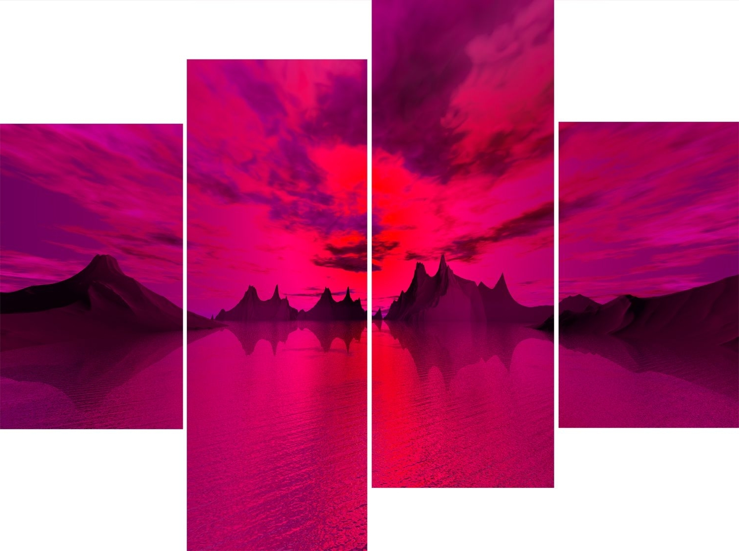 Pink Canvas Wall Art With Current Wall Art Designs: Pink Wall Art Section High Pink Wall Art Grade (View 7 of 15)