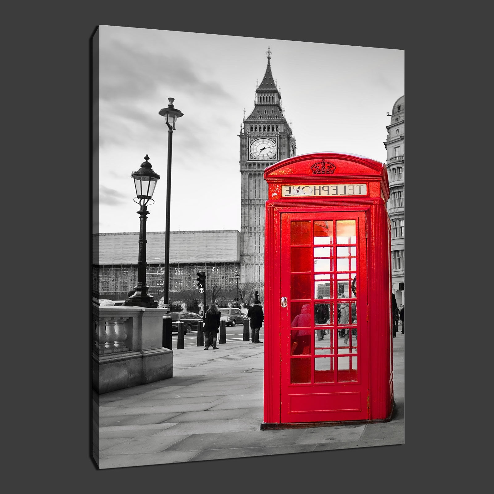 Popular Canvas Wall Art Of London Inside Canvas Print Pictures. High Quality, Handmade, Free Next Day Delivery (View 7 of 15)