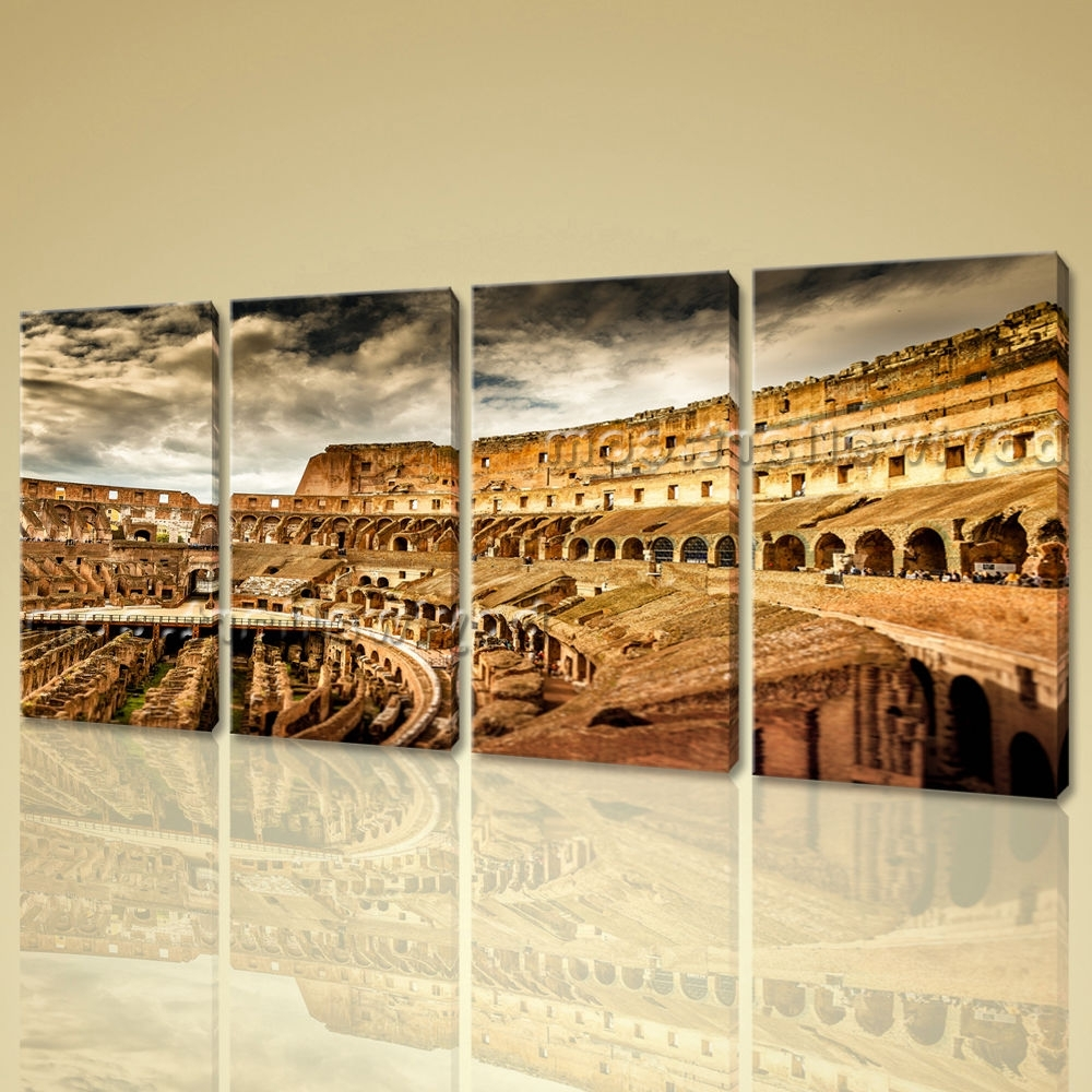 Popular Canvas Wall Rome Buy Cheap Canvas Wall Rome Lots From Regarding Widely Used Canvas Wall Art Of Rome (View 11 of 15)