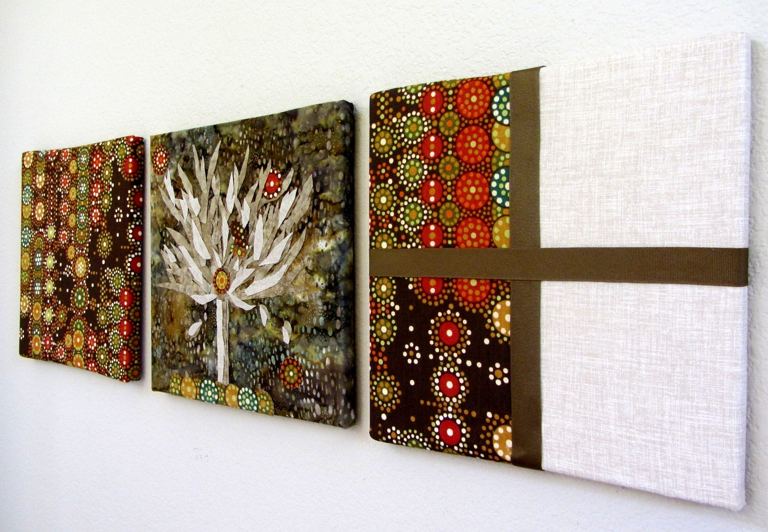 Popular Contemporary Textile Wall Art Within Creative Wall Art #10373 (Gallery 12 of 15)
