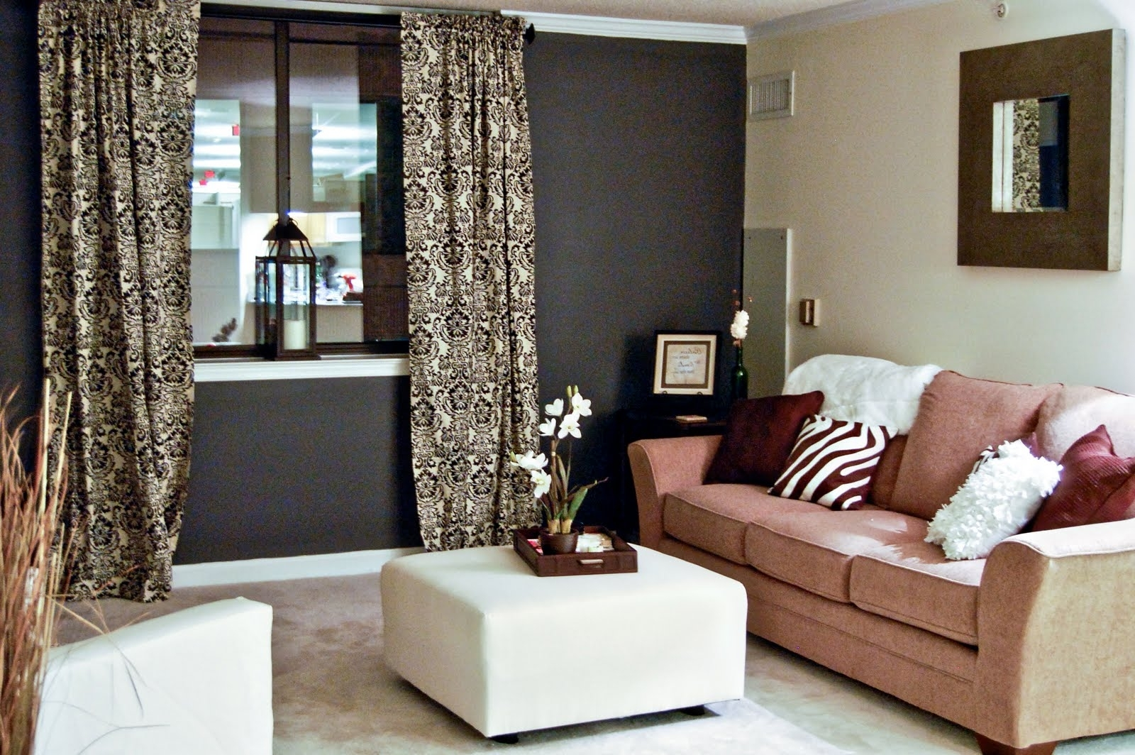 Popular Decorating A Living Room With Dark Brown Walls (View 6 of 15)