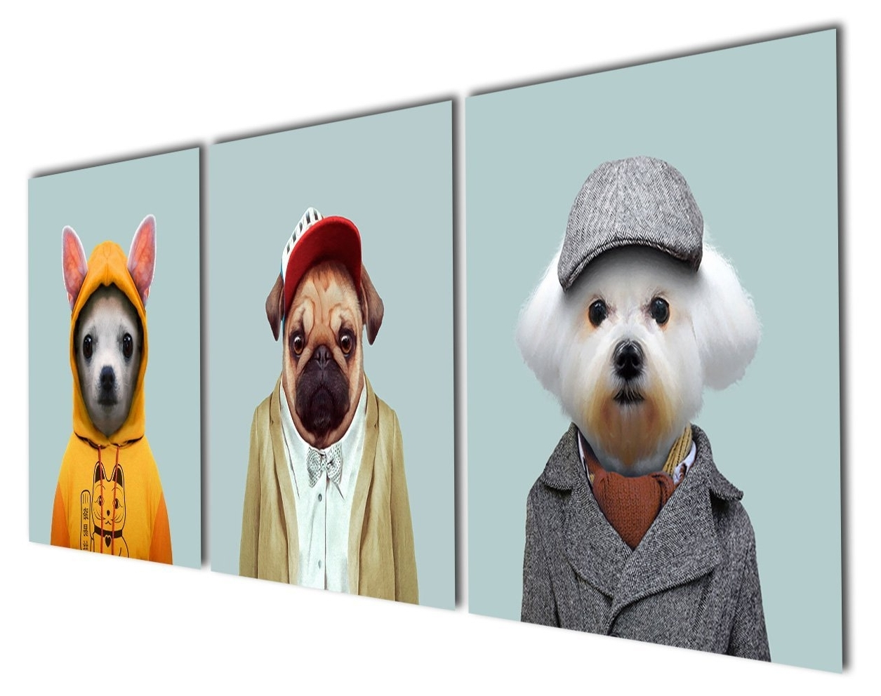 Featured Photo of Dogs Canvas Wall Art
