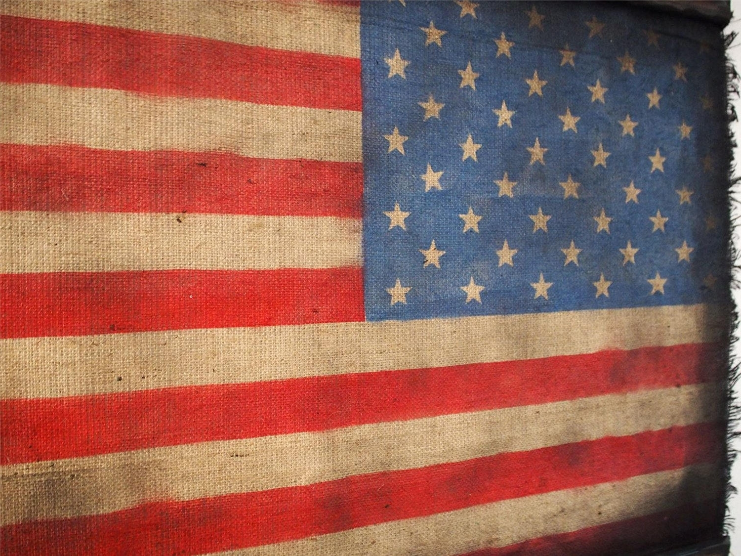Popular Flags – Woodcraft City With Regard To American Flag Fabric Wall Art (View 10 of 15)