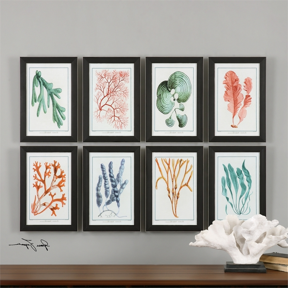 Popular Framed Coral Art Prints Within Wall Art Mirrors And Framed Pictures (Gallery 2 of 15)