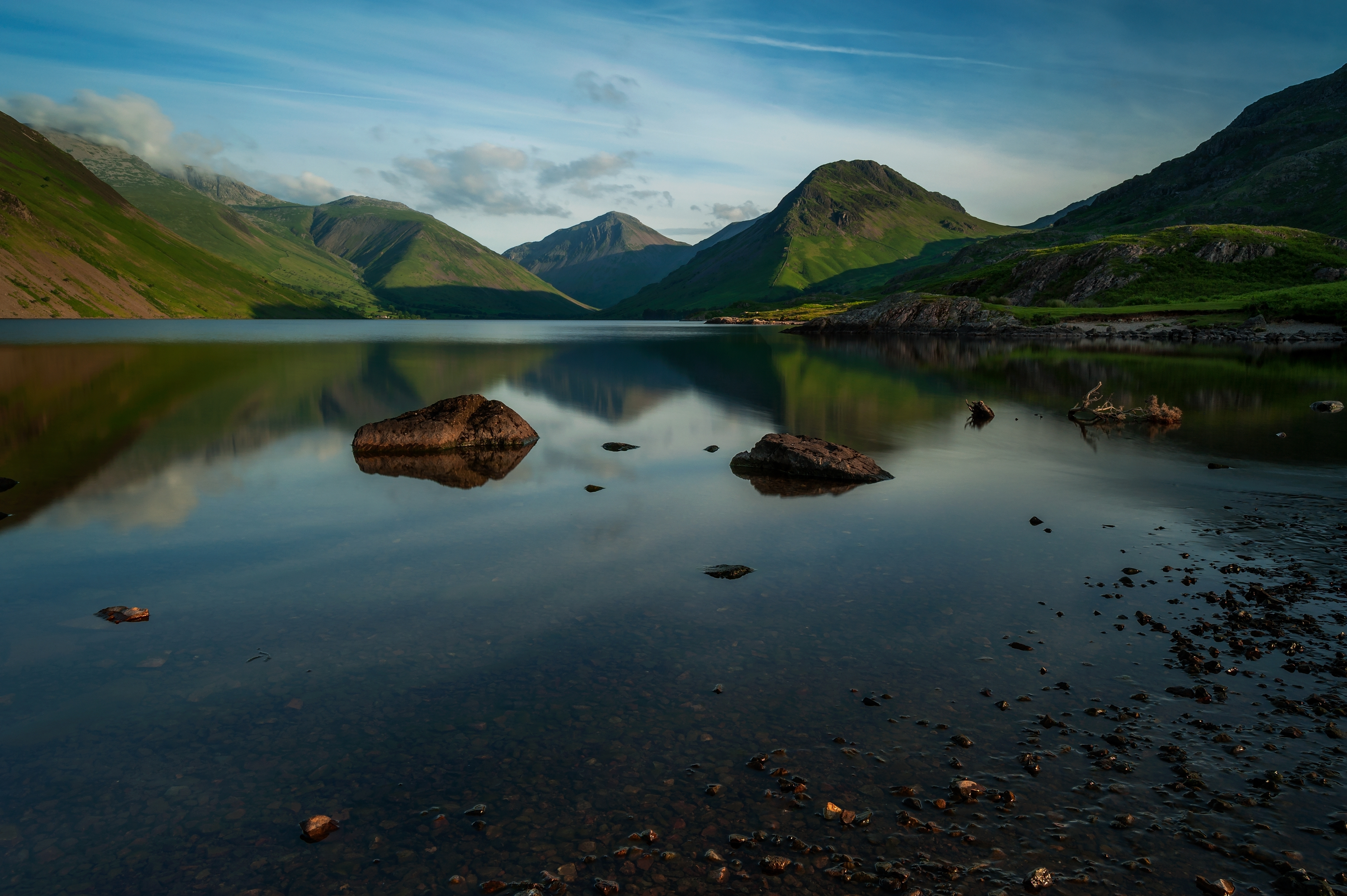 Popular Lake District Landscape Photography / Panoramic Photography Cumbria Uk With Lake District Canvas Wall Art (View 12 of 15)