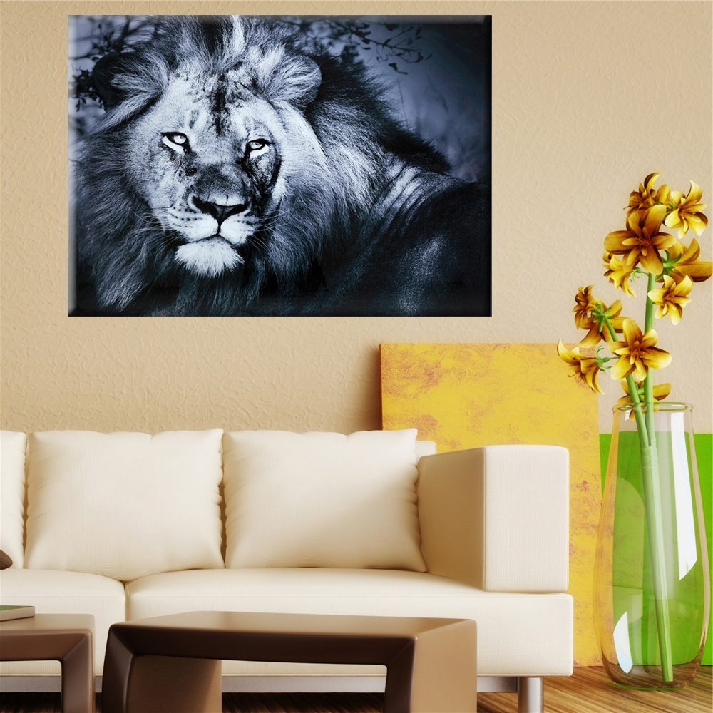 Photo Gallery of Lion King Canvas Wall Art (Showing 12 of 15 Photos)