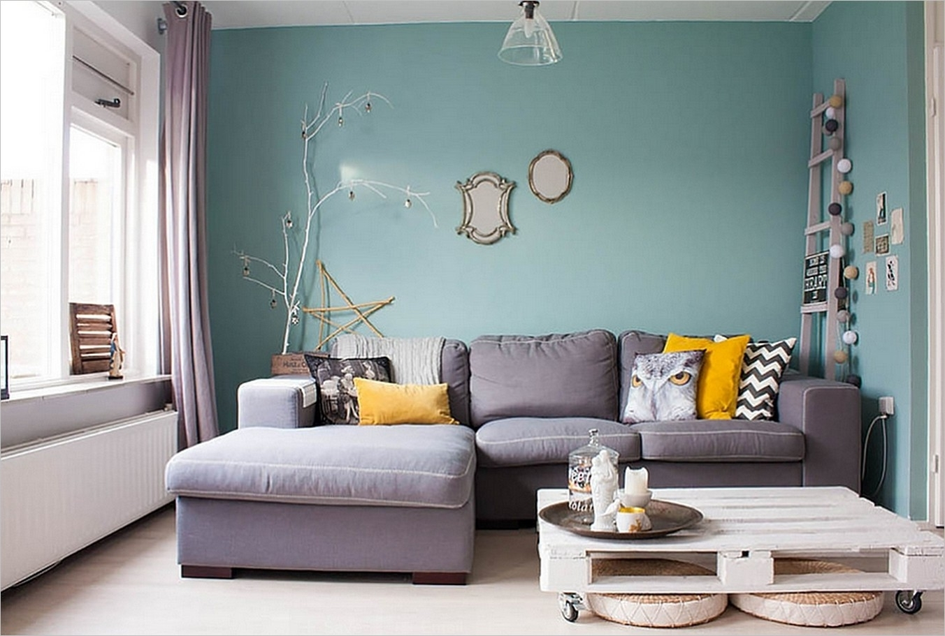 Preferred 2017 Color Trends For Your Home Interior, According To Paint Within Light Blue Wall Accents (View 10 of 15)