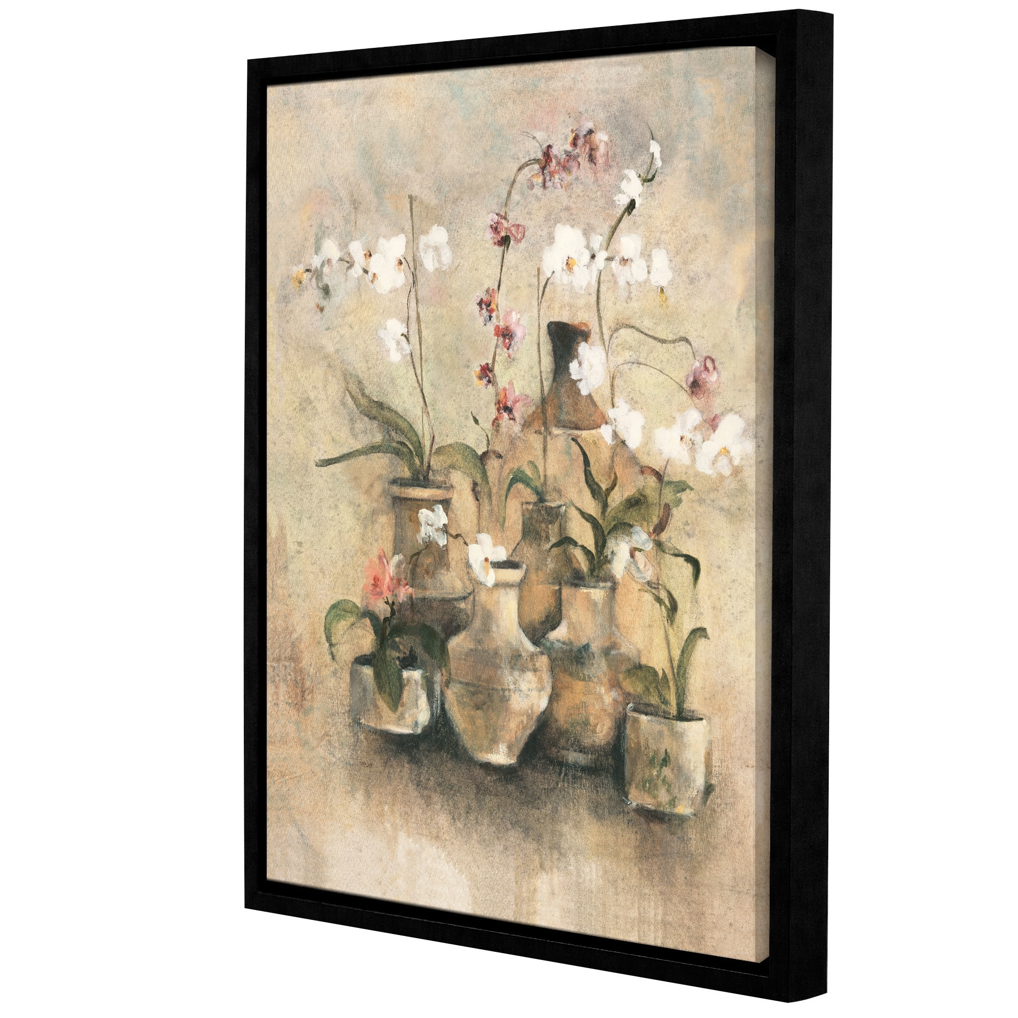 Preferred Artwall 'arrangement Of Orchids I'cheri Blum Framed Painting In Cheri Blum Framed Art Prints (View 13 of 15)