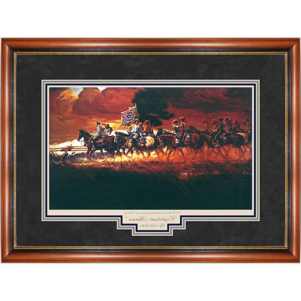 Preferred Confederate Framed Art Prints Regarding Confederate Autumn Print – Prints – Art Reproductions – Confederate (View 11 of 15)