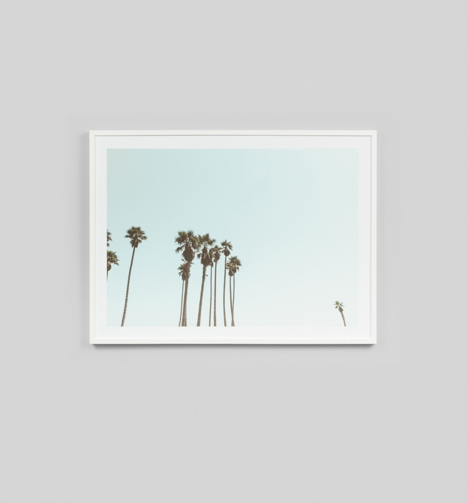 Preferred Framed Print Palm Skymiddle Of Nowhere Available From Shut The In Framed Art Prints For Bedroom (Gallery 6 of 15)