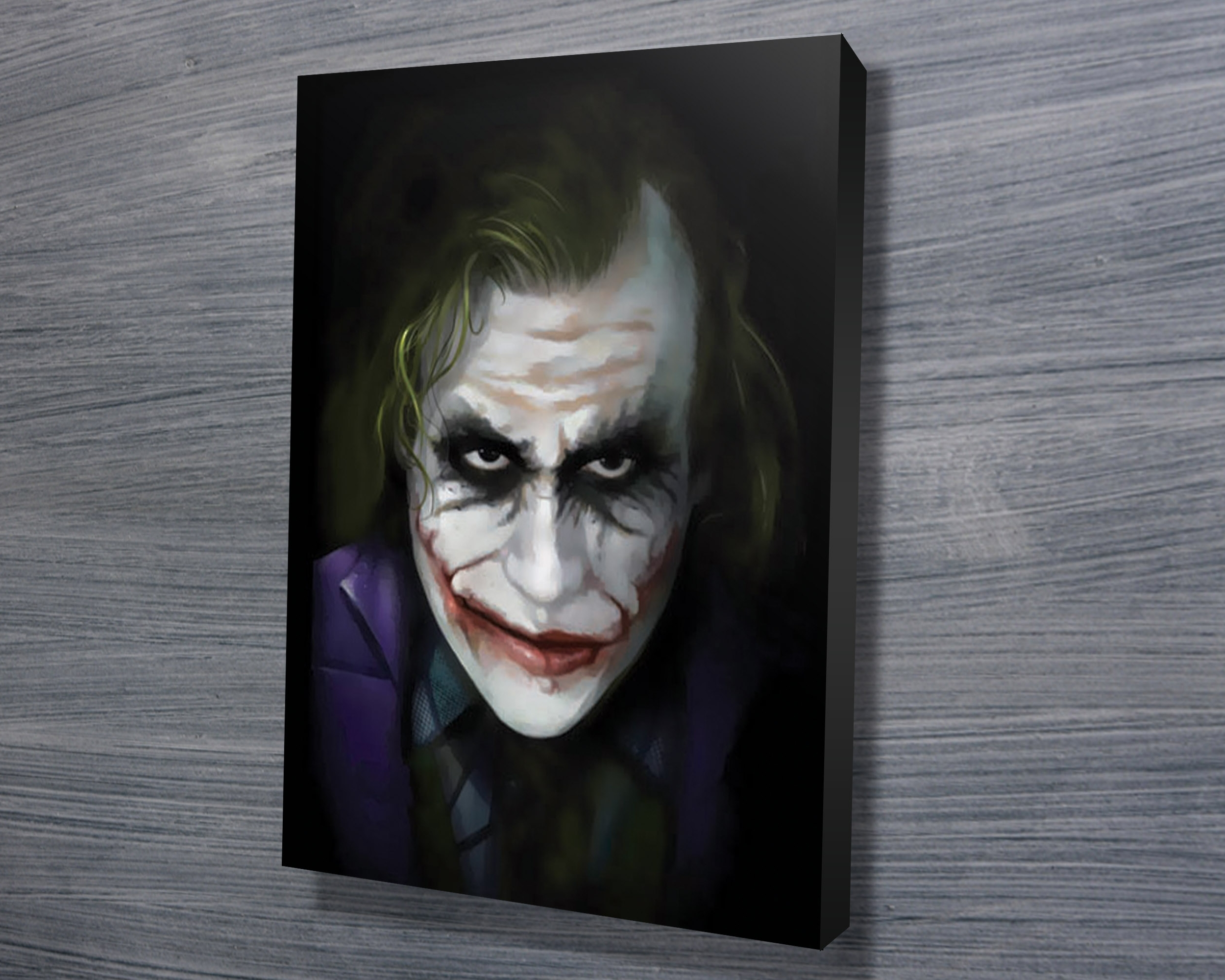 Preferred Joker Canvas Wall Art Throughout The Joker – Canvas Prints Australia (View 10 of 15)