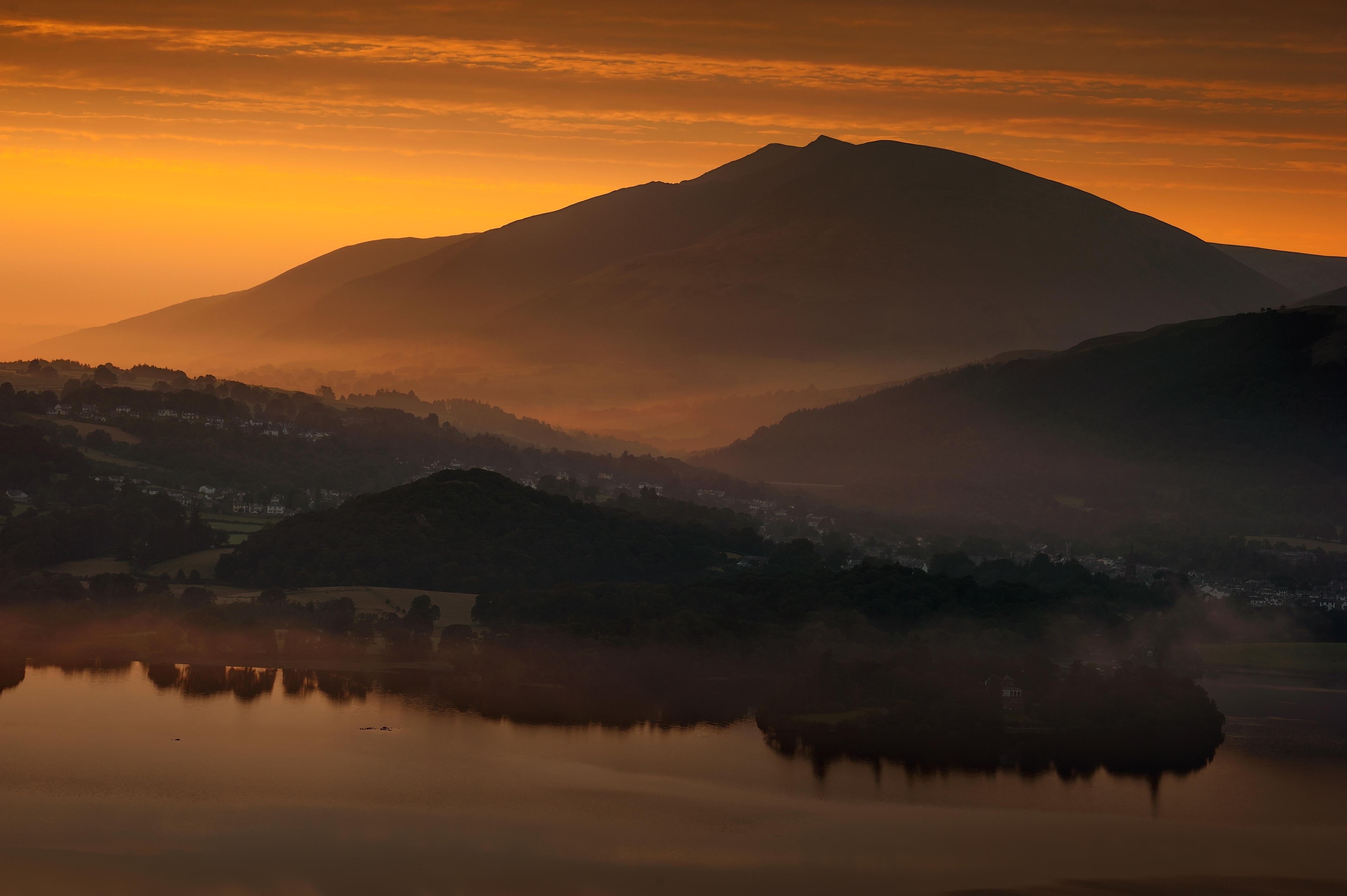 Preferred Lake District Landscape Photography / Panoramic Photography Cumbria Uk With Lake District Canvas Wall Art (View 13 of 15)