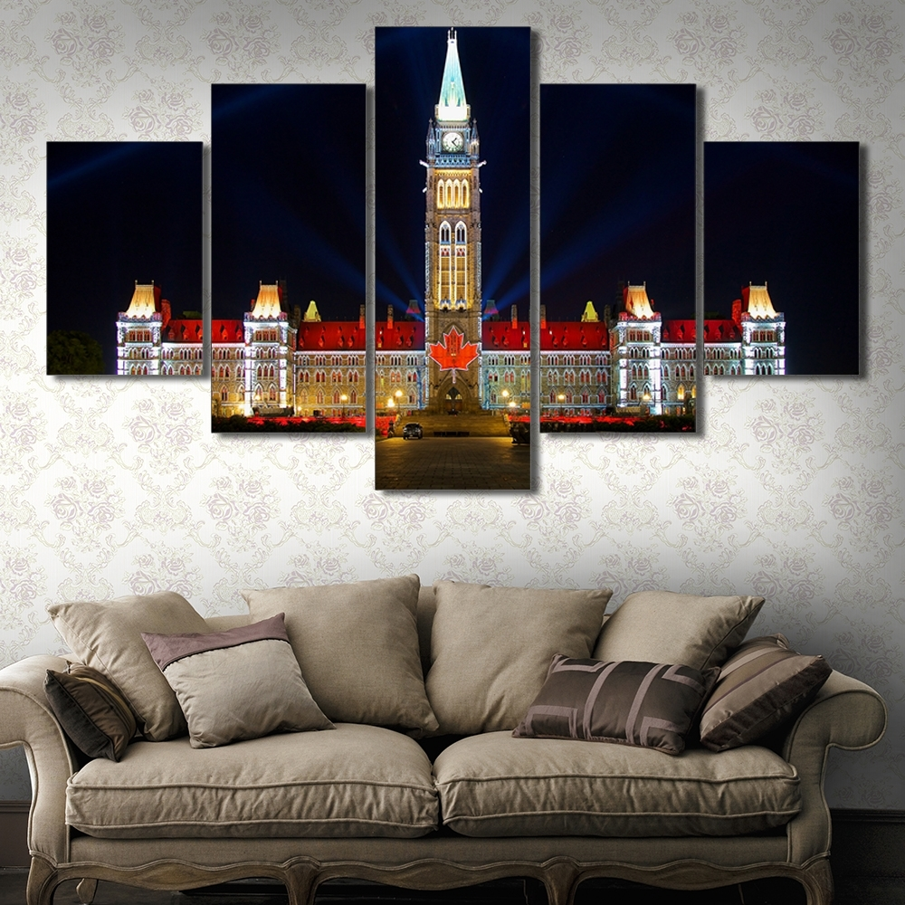 Preferred Online Buy Wholesale Ottawa In Canada From China Ottawa In Canada With Ottawa Canvas Wall Art (View 13 of 15)