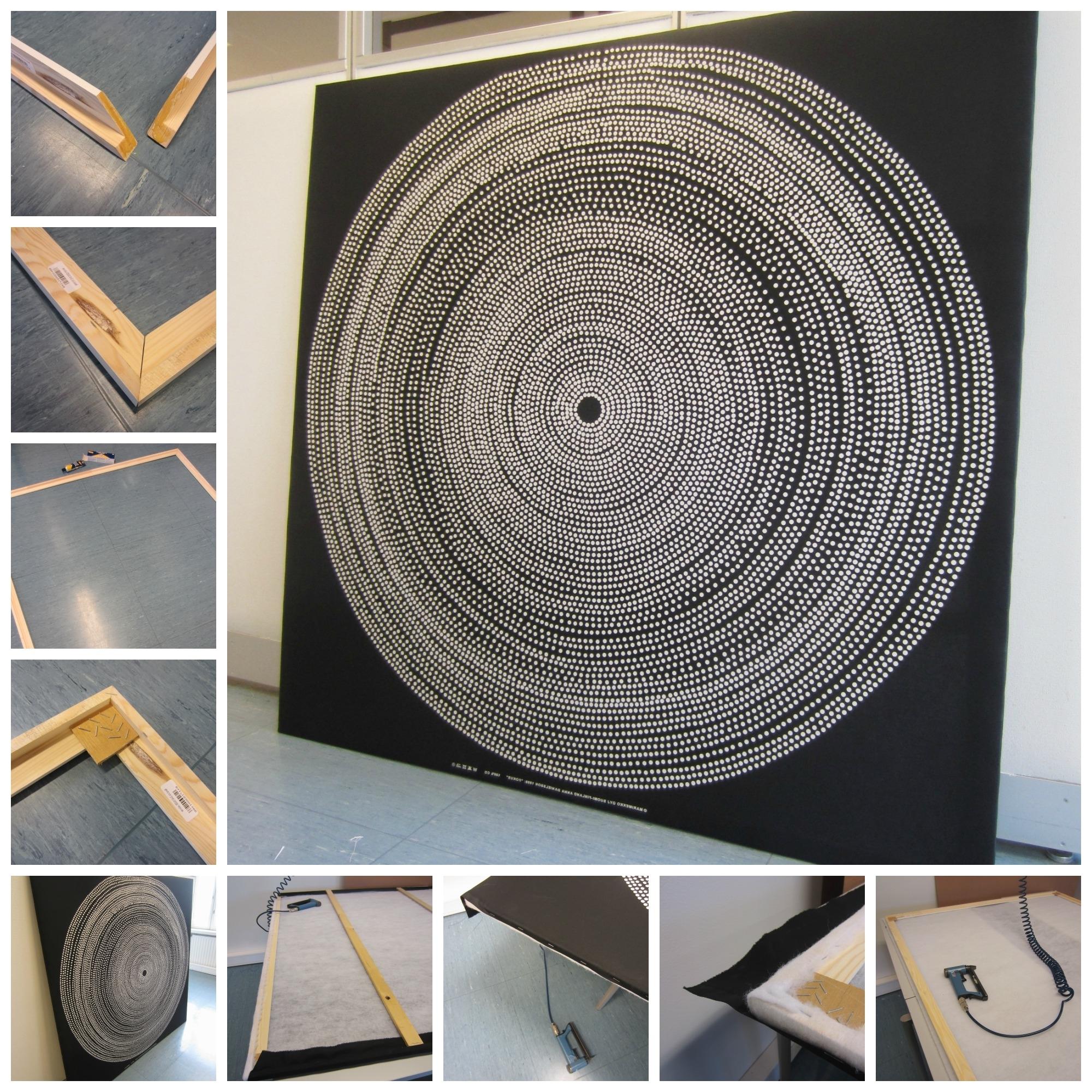 Preferred Tee Se Itse Naisen Sisustusblogi: Fabric Board Wall Out Of Within Marimekko 'karkuteilla' Fabric Wall Art (View 12 of 15)
