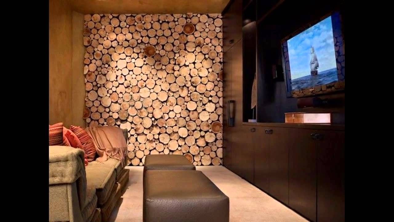 Preferred Wooden Wall Accents In Awesome Wood Wall Decor Ideas – Youtube (View 12 of 15)