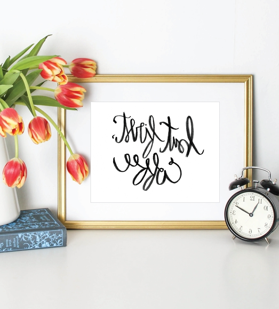 Puddleduck In 2017 Framed Coffee Art Prints (Gallery 8 of 15)