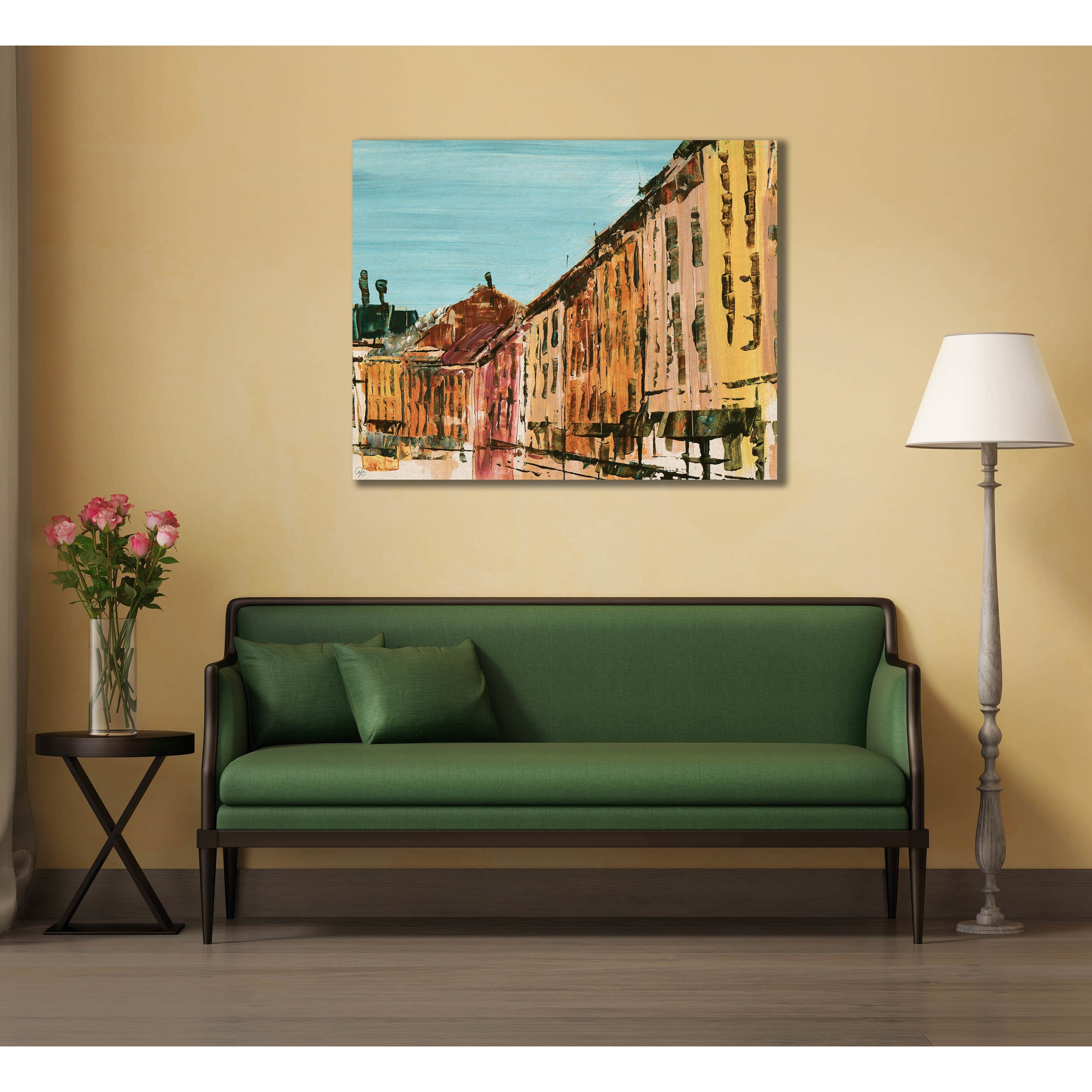 Quaint Streets Of Montreal Wall Art Canvas Print – Free Shipping With Regard To 2017 Montreal Canvas Wall Art (Gallery 10 of 15)