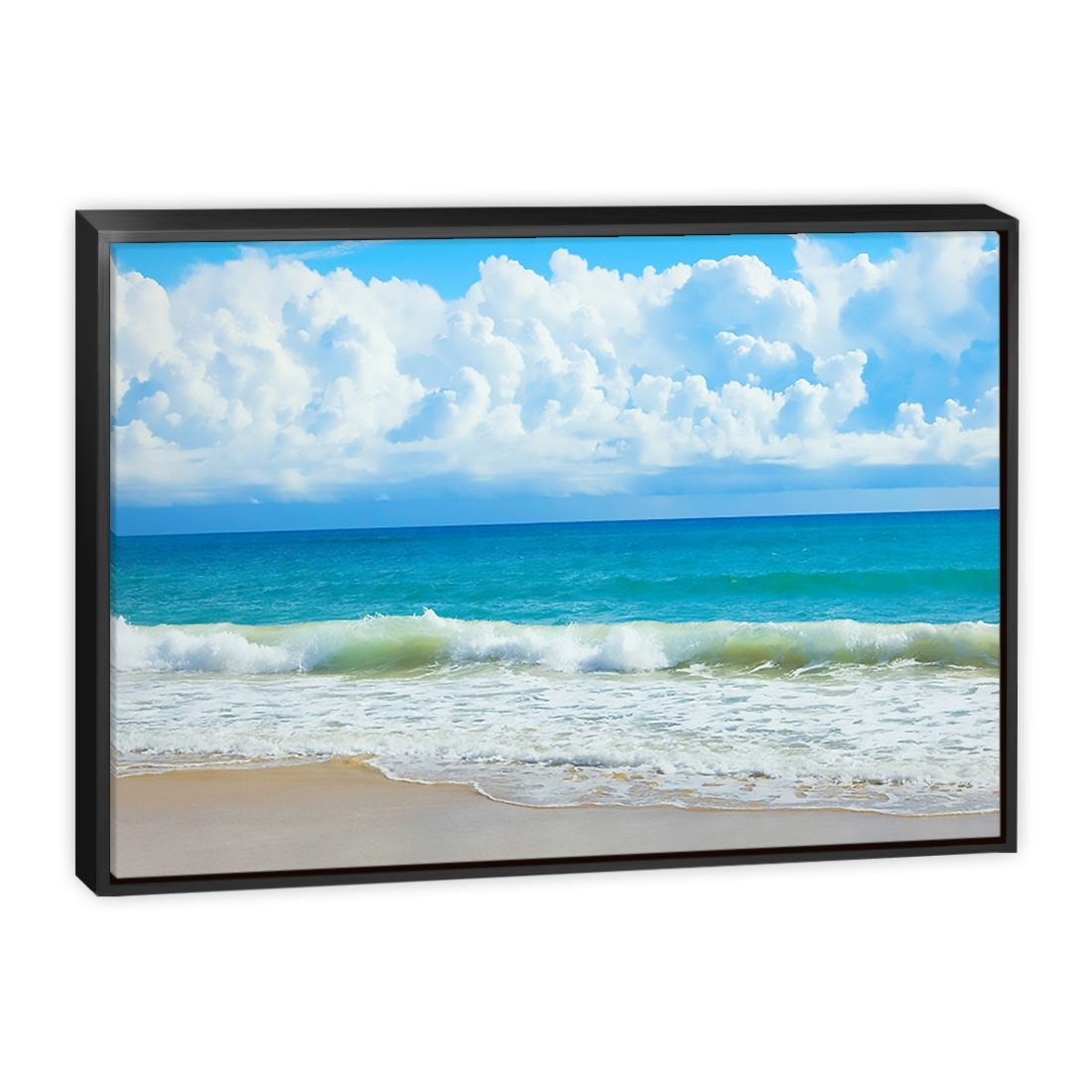 Queensland Beach – Canvas Print – Wall Art – Australia For Most Recently Released Queensland Canvas Wall Art (Gallery 15 of 15)