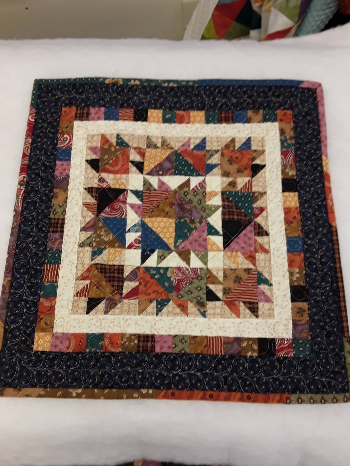 Quilt Fabric Wall Art In Widely Used Small Quilt Kit (View 13 of 15)