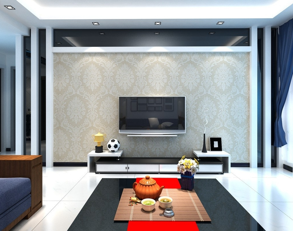 Recent 15 Tv Wall Decor Ideas Amazing Living Room Tv Decorating Throughout Most Recent Wall Accents Behind Tv (Gallery 13 of 15)