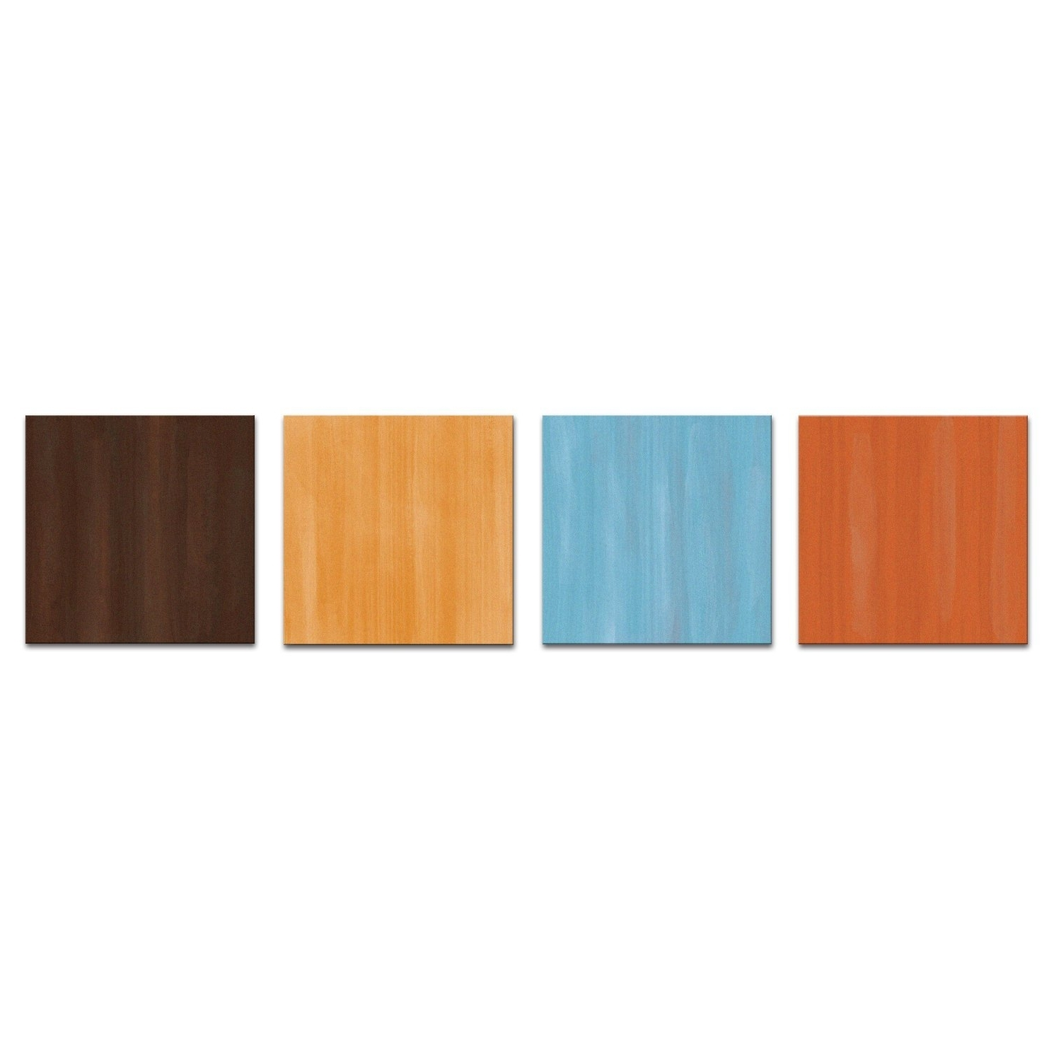 Recent Earth Tones Wall Accents In Amazon: Earth Tone Modern Artwork 'cozy' – 50x12in (View 4 of 15)