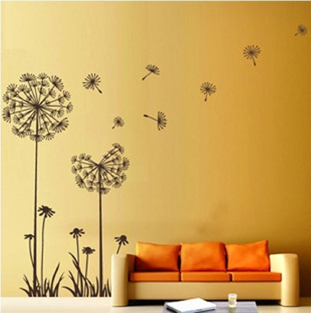 Recent Fantastic Floral Wall Decorations Ideas – The Wall Art Decorations Throughout Flowers Wall Accents (Gallery 11 of 15)