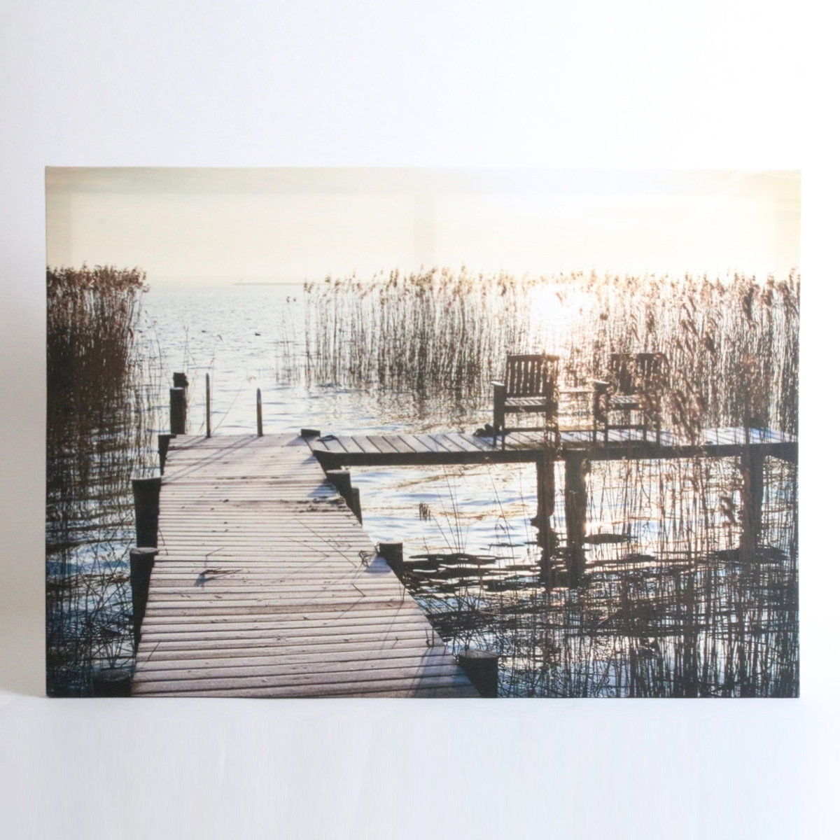 Recent Jetty Canvas Wall Art Within Sunset Jetty Canvas Wall Art (Gallery 10 of 15)