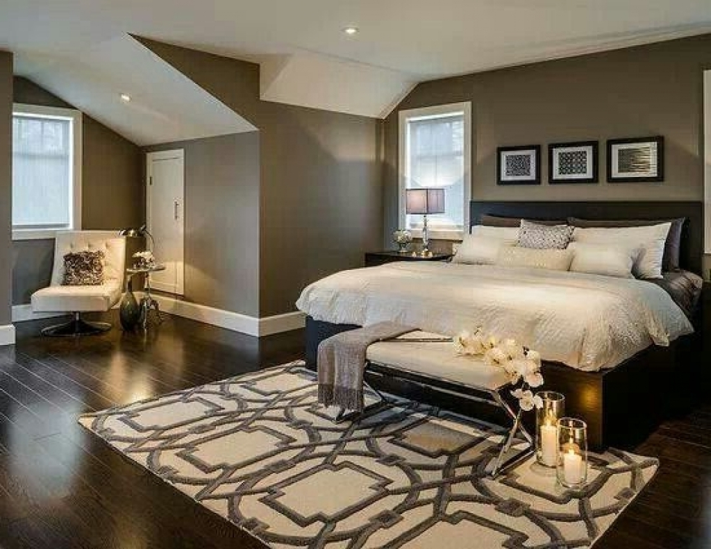 Recent Love The Dark Wood & Neutral Wall Color. (Gallery 1 of 15)