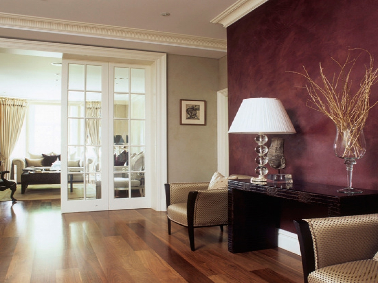 Recent Maroon Wall Accents Within Accent Wall Colors Burgundy – Giving Highlight With Accent Wall (View 14 of 15)