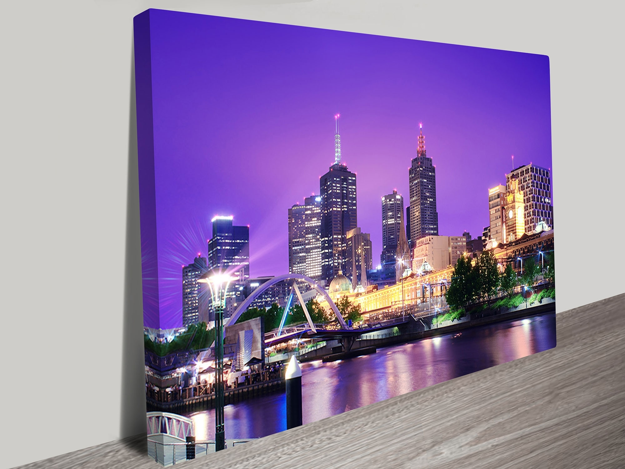 Recent Melbourne Canvas Wall Art Pertaining To Cityscape Artwork On Canvas (View 11 of 15)