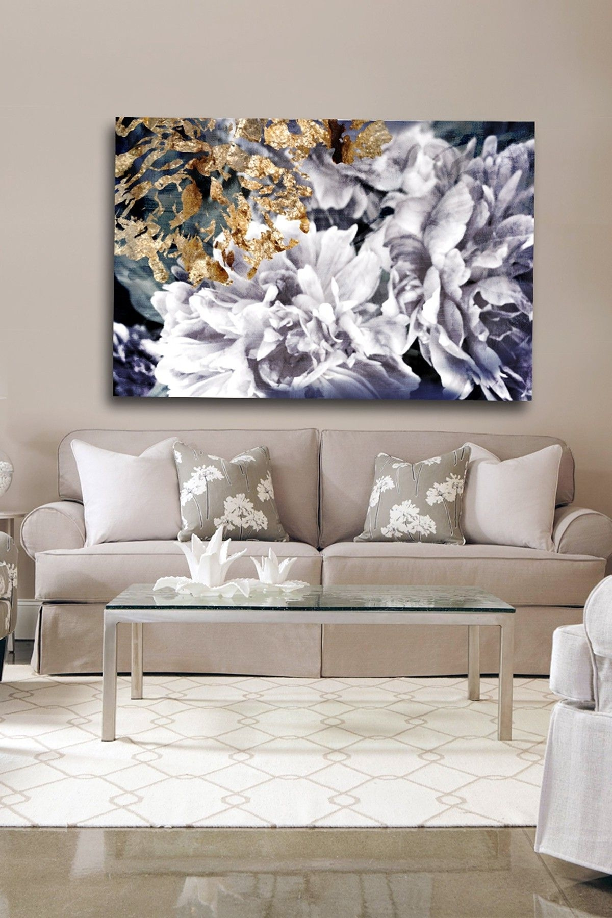 Recent Mississauga Canvas Wall Art Inside Oliver Gal Dos Gardenias Canvas Wall Art (View 11 of 15)