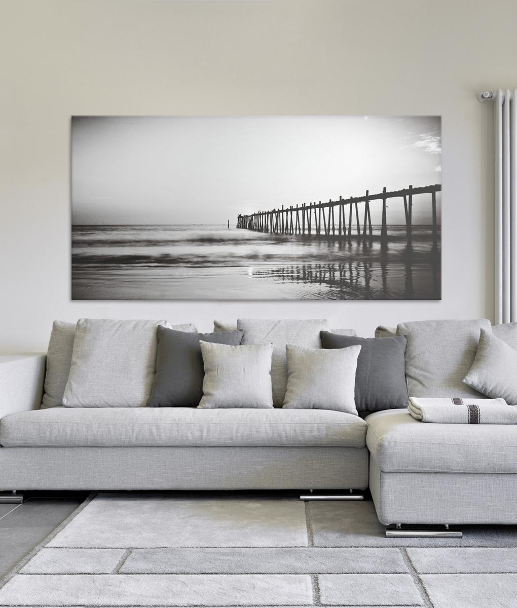 Recent Ocean Pier Canvas Print (View 11 of 15)