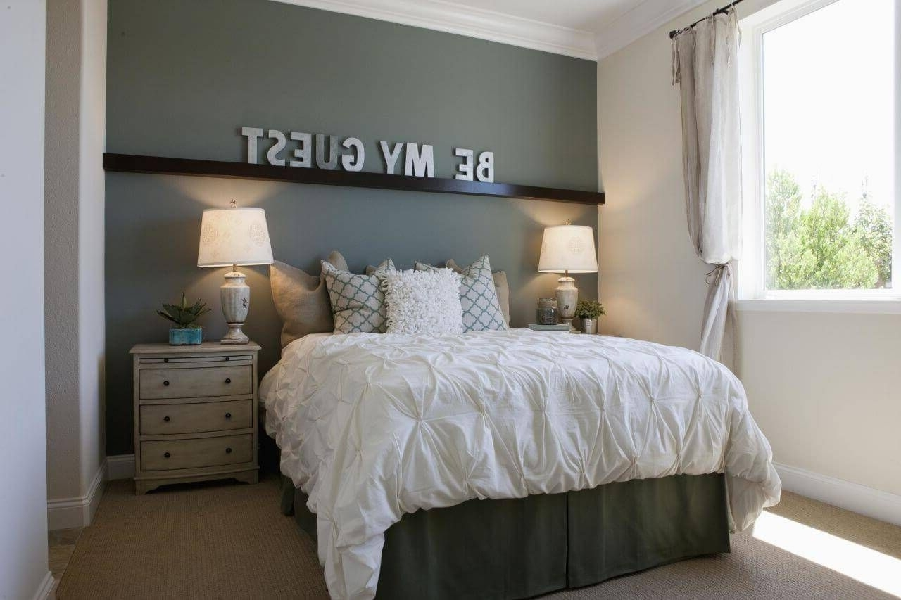 Recent Wall Accents For Small Bedroom With 20+ Accent Wall Ideas You'll Surely Wish To Try This At Home (Gallery 1 of 15)