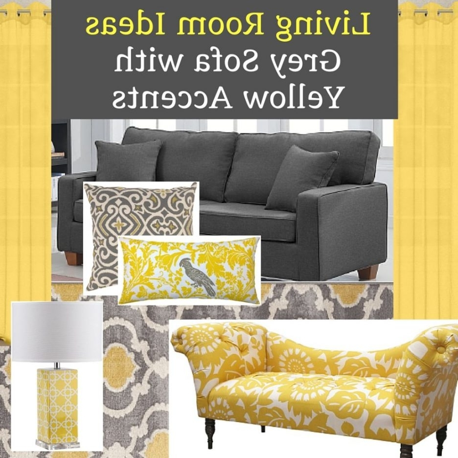 Recent Yellow Wall Accents Throughout Yellow Wall Art Decor Grey And Yellow Mixed Grey And Mustard (View 12 of 15)