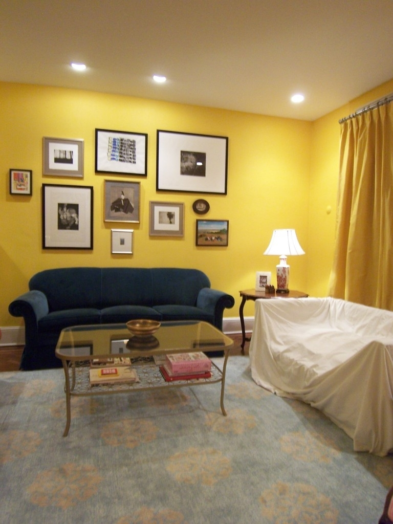 Recent Yellow Wall Accents With Decoration (View 13 of 15)