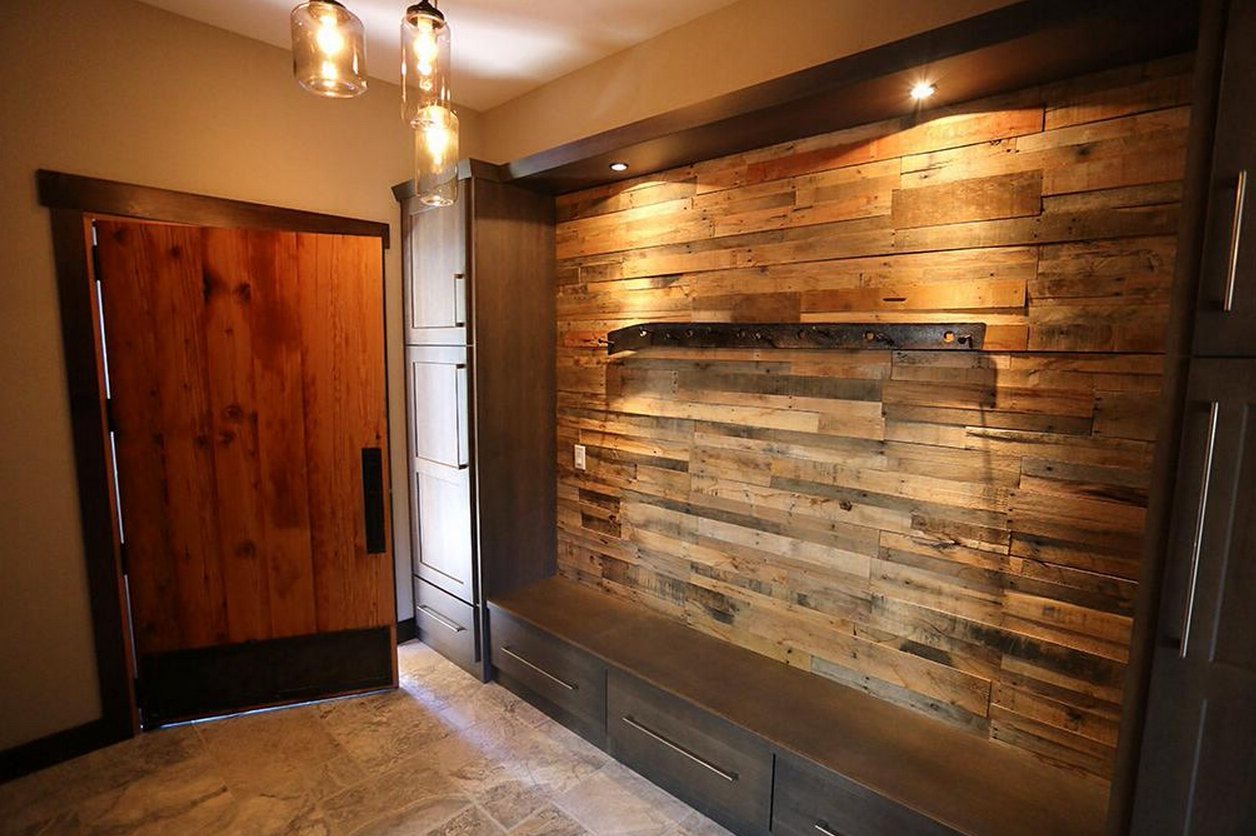 Reclaimed Pallet Wood Wall – Sustainable Lumber Company With Regard To Well Liked Wood Pallets Wall Accents (View 12 of 15)
