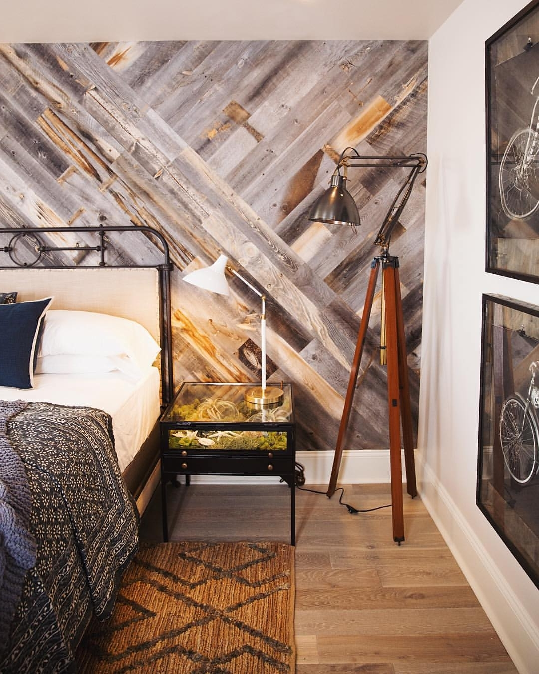 Reclaimed Wood Wall Accents Pertaining To Well Known Diy Easy Peel And Stick Wood Wall Decor (Gallery 12 of 15)