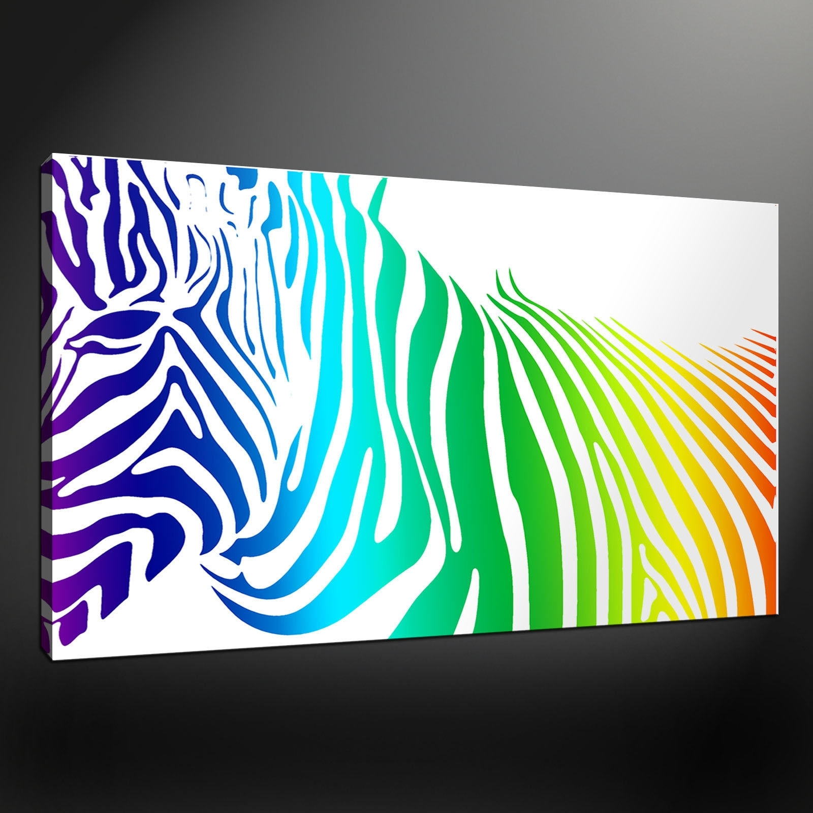 Rectangular Canvas Wall Art For Trendy Wall Art Ideas Design : Variery Prints Zebra Canvas Wall Art (View 14 of 15)