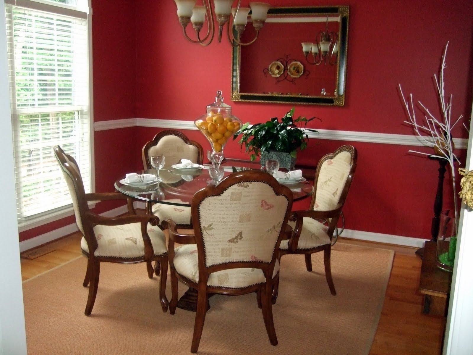 Red Dining Room Wall Decor Within Well Known Dining Room Wall Accents (Gallery 9 of 15)