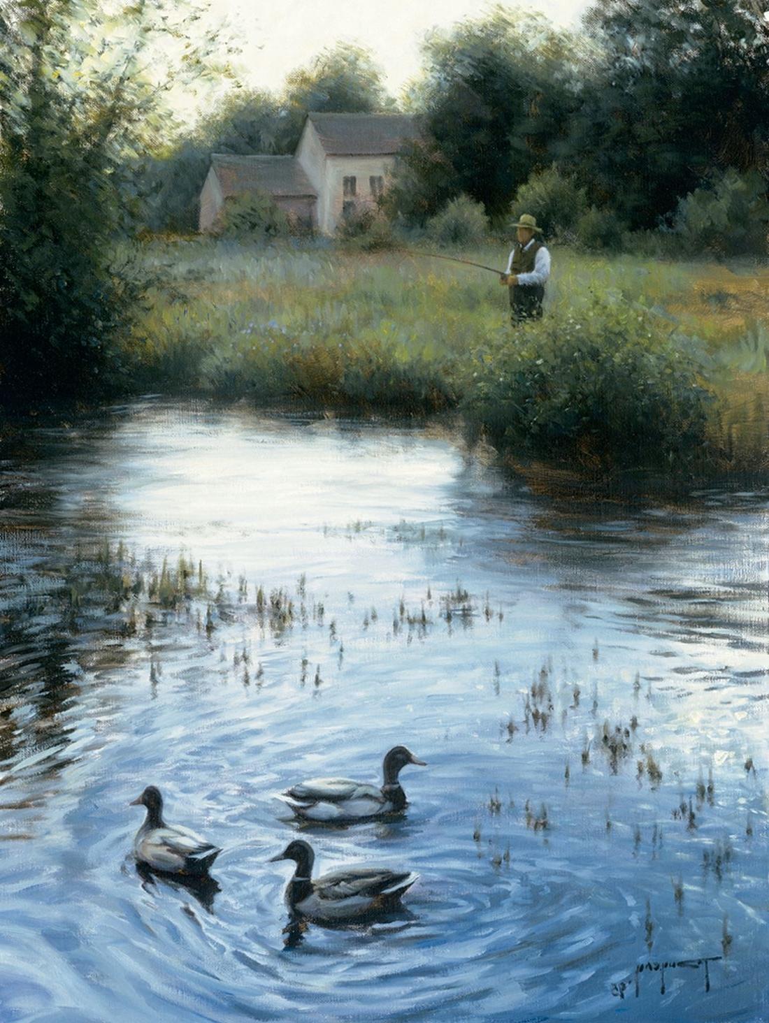 Robert Duncan Framed Art Prints With Regard To 2018 Peaceful Eveningrobert Duncan Www.robertduncanstudios (Gallery 11 of 15)