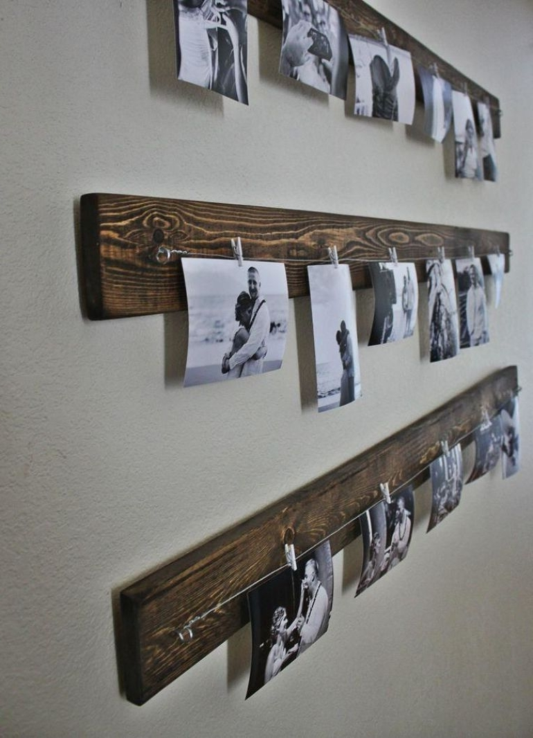 Rustic Wall Accents Regarding Most Recent 17 Amazing Diy Wall Décor Ideas, Transform Your Home Into An Abode (View 15 of 15)