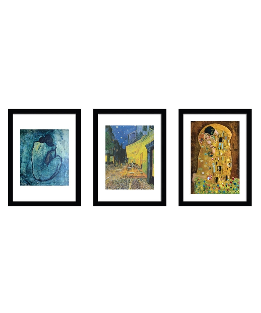 Secretsales Regarding Most Recent Famous Art Framed Prints (View 13 of 15)