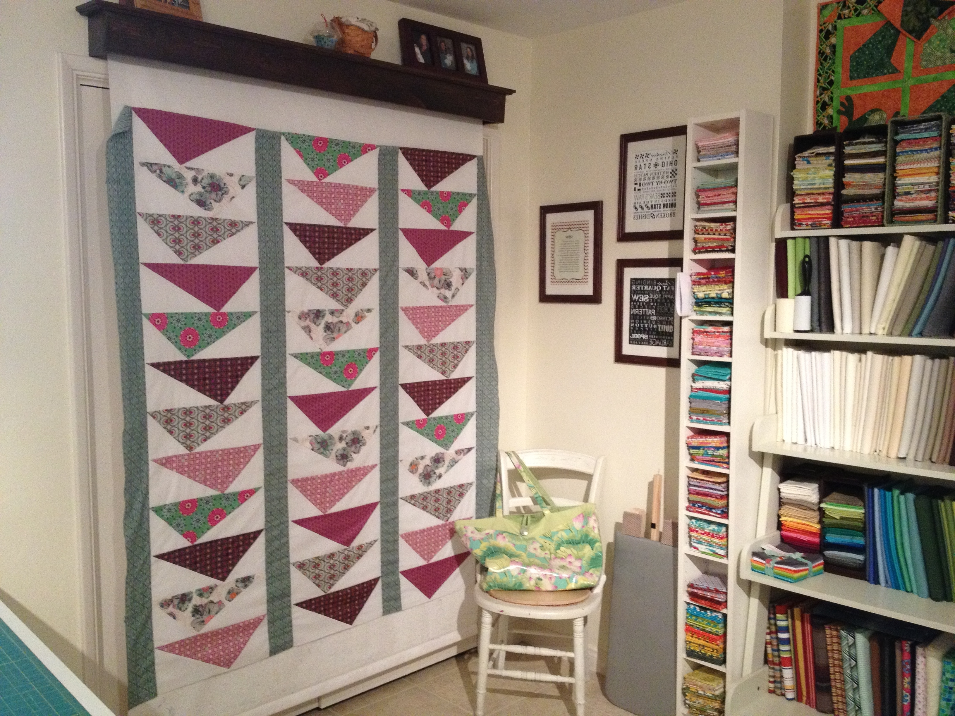 Sewing Room Of The Month – Art Gallery Fabrics – The Creative Blog Intended For Favorite Ikea Fabric Wall Art (View 13 of 15)
