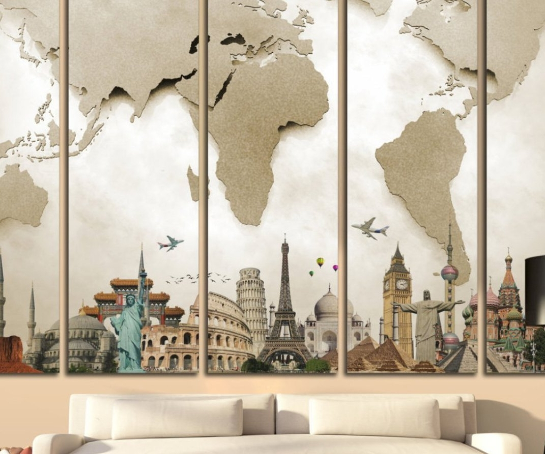 Sticker : Tree Wall Stickers Wall Stickers For Kids Large Wall In Well Known Large Canvas Wall Art Quotes (View 13 of 15)