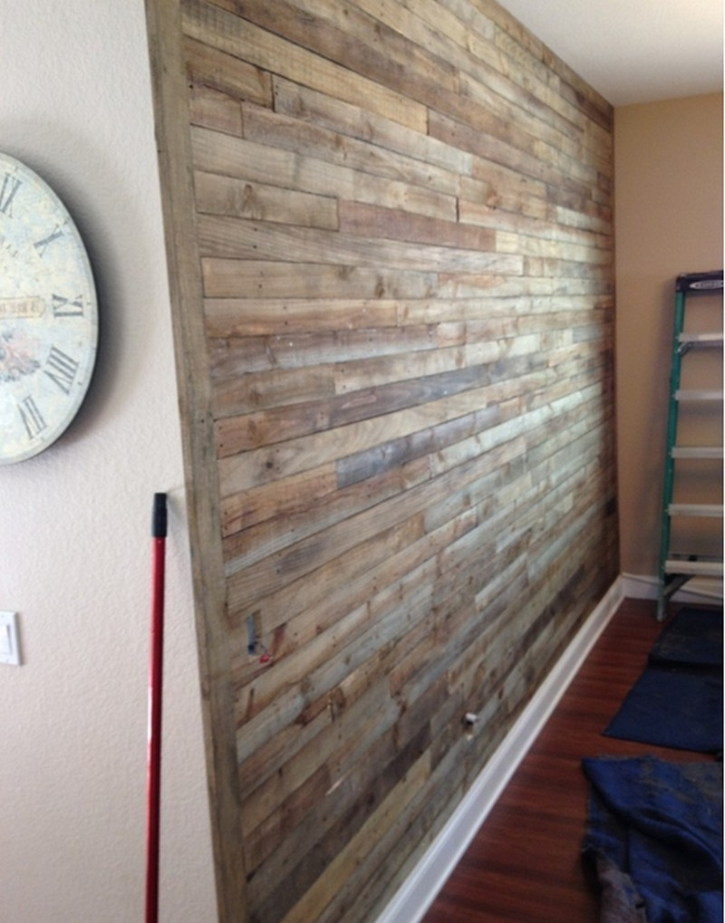 The Owner Builder Network Pertaining To Well Known Wall Accents Made From Pallets (View 11 of 15)