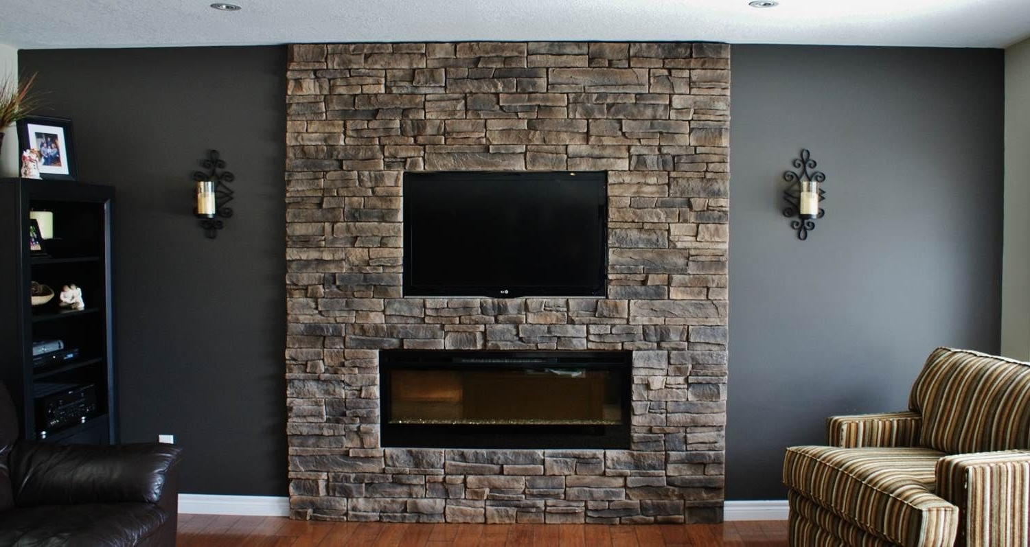 This Client Had The Fireplace (View 4 of 15)